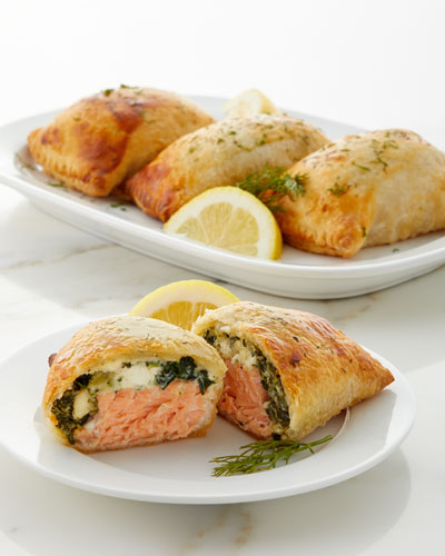 Salmon Wellingtons, Set of 4