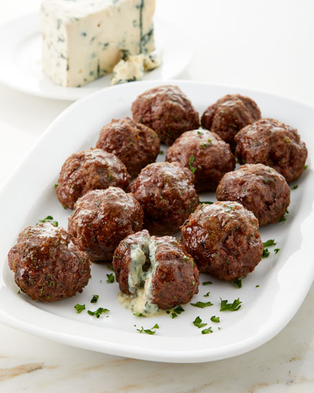 Blue Cheese Stuffed Meatballs, Set of 12