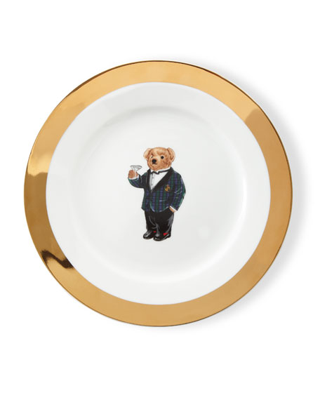 Thompson Dessert Plates, Set of 4