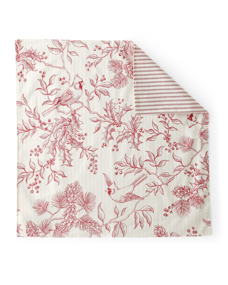 Evergreen Toile Napkins, Set of 4