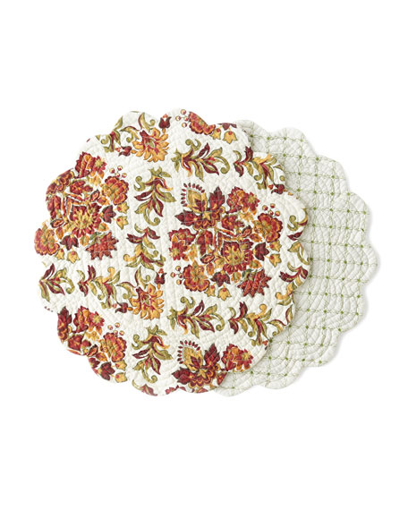 Agnes Round Placemats, Set of 4