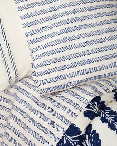 Lauren Ralph Lauren Annalise Stripe California King Sheet