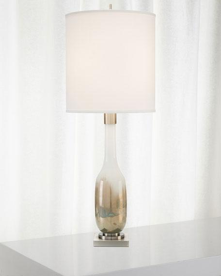 Hand-Blown Golden Table Lamp