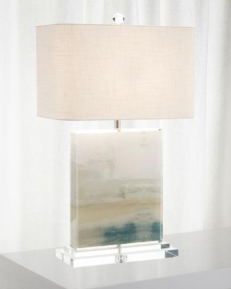 Slated Table Lamp