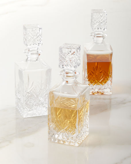 Godinger Dublin Mini Decanters, Set of 3