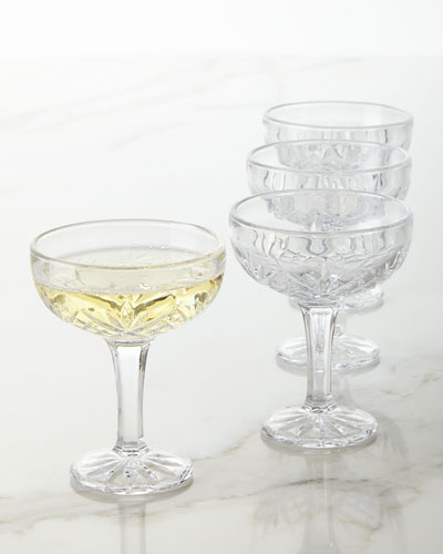 Dublin Coupe Glasses, Set of 4