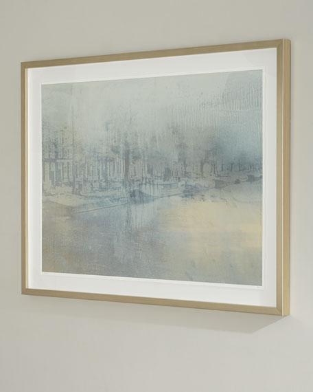 """Amsterdam"" Handmade Framed Print Wall Art by Carol Benson-Cobb"