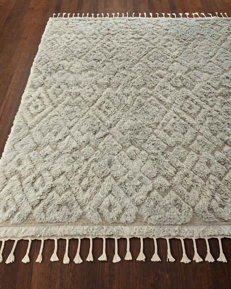 Berke Hand-Loomed Rug, 6.6' x 8.5'
