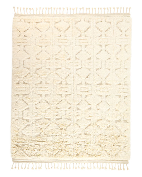 Chance Hand-Loomed Rug, 7.8' x 9.8'