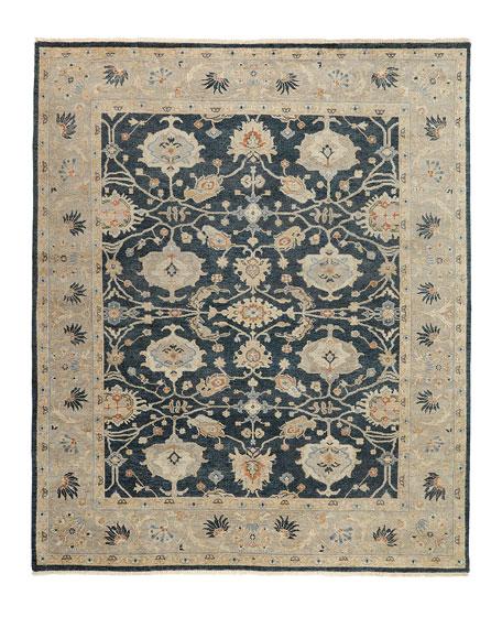 Estevan Hand-Knotted Oushak Rug, 10' x 14'