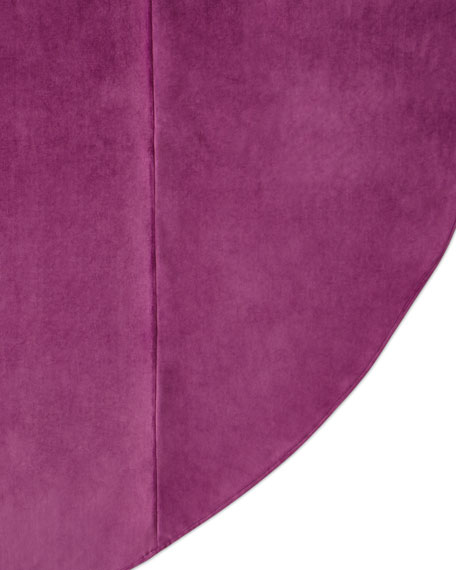 Royal Court Velvet Round Tablecloth