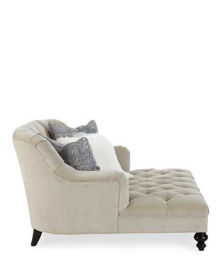 Valentina Tufted Chaise