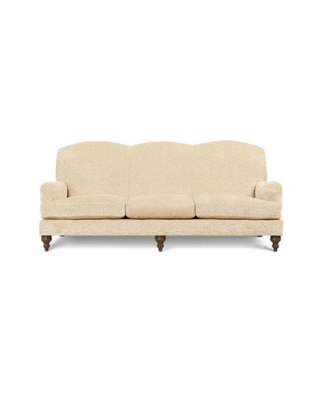 "Alicia Rolled Arm Sofa 87"""