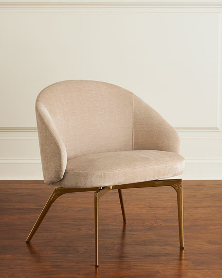 Cynthia Chenille Lounge Chair