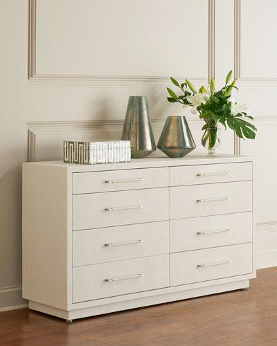 Robyn 8-Drawer Dresser  White