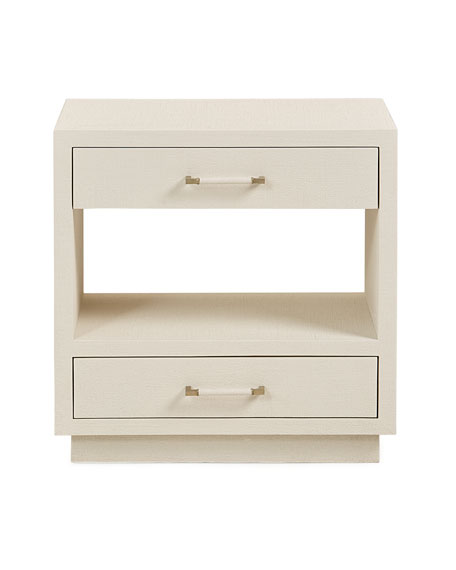 Robyn Bedside Chest, White