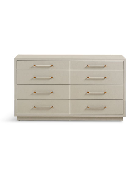 Robyn 8-Drawer Dresser, Gray