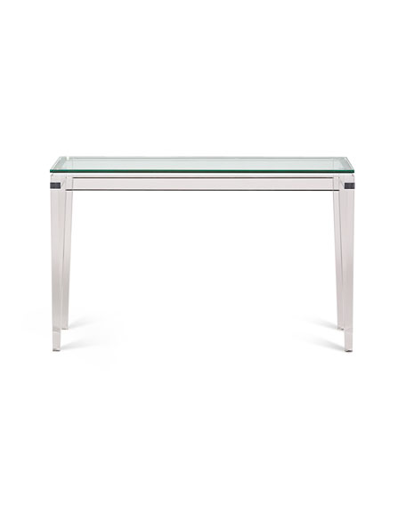 Pleasant Teighlor Acrylic Console Table Spiritservingveterans Wood Chair Design Ideas Spiritservingveteransorg