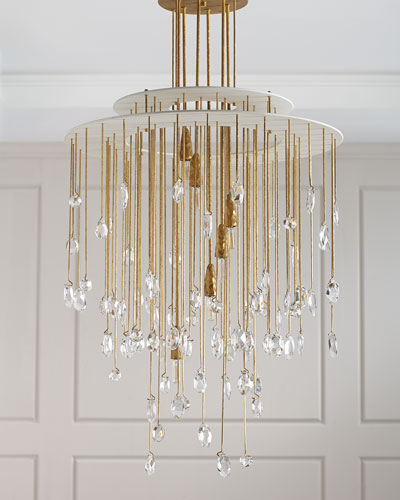 Hailee Medium Sculpted Chandelier