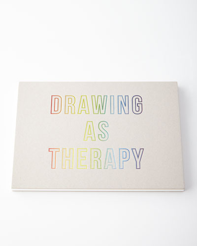 Drawing as Therapy Landscape Sketchbook