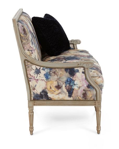 Windsor Floral Settee