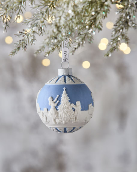 Wedgwood Christmas Ornaments.2018 Dressing The Christmas Tree Ornament