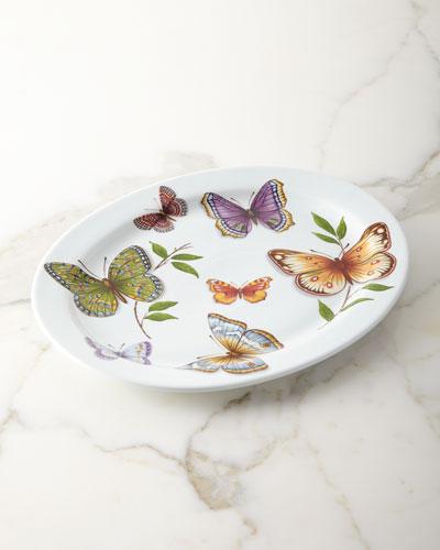 Oval Butterfly Platter