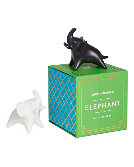 Elephant Salt & Pepper Shakers