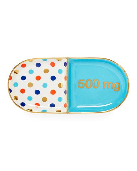 Pill Shaped Tray