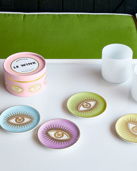 Jonathan Adler Eyes Coaster Set