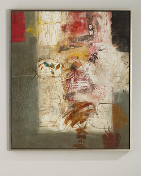 John-Richard Collection Abstract Handmade Giclee on Canvas Art