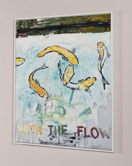 """Go With The Flow"" Giclee Art"