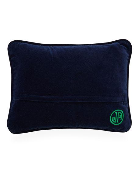 Bestie Worstie Needlepoint Personality Pillow