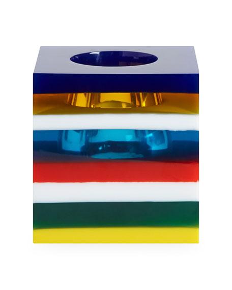 Jonathan Adler Stacked Bel Air Mini Scoop Vase