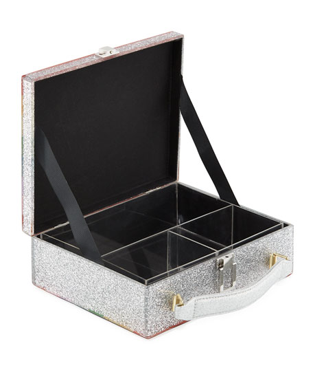 Yum Rainbow Acrylic Lunch Box