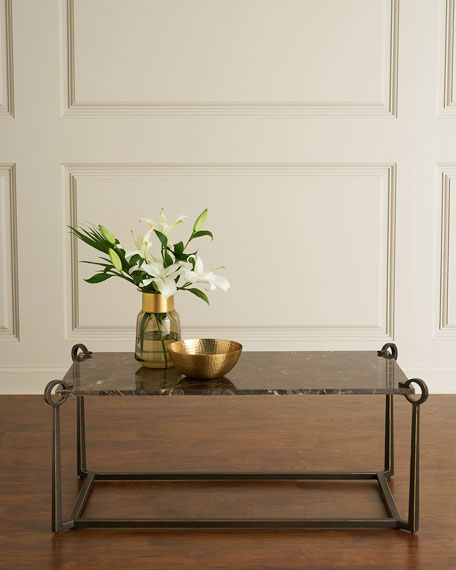 Cresthaven Bronze-Finish Coffee Table