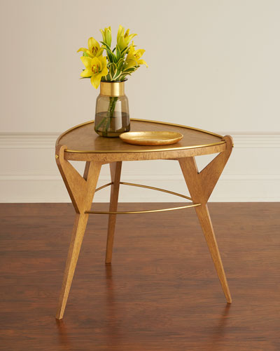 Spinnaker Tripod End Table