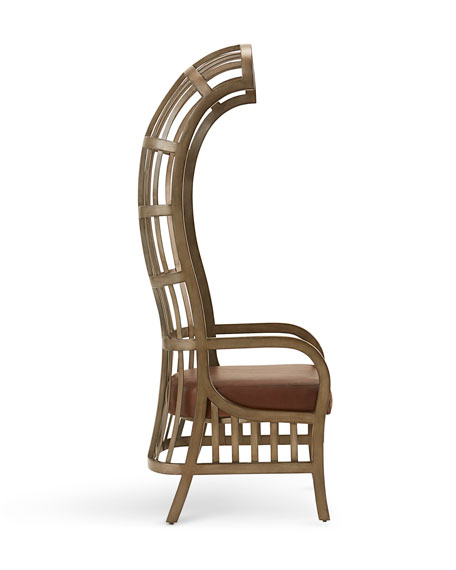 Roseburg Metal Balloon Chair