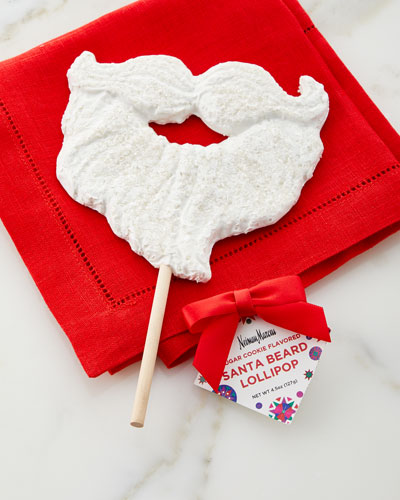 Santa Beard Lollipop