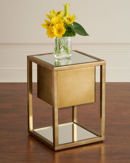 Gladstone Pedestal Side Table