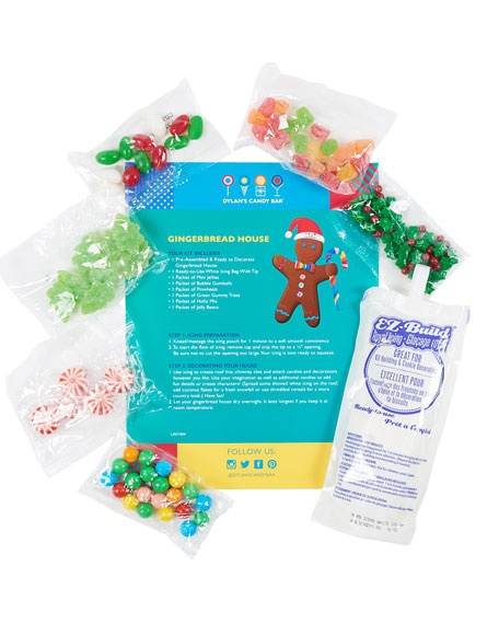 Holiday 2019 Preassembled Gingerbread House Kit