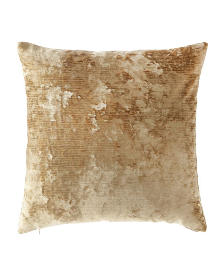 Miranda Textured Pillow, Gold