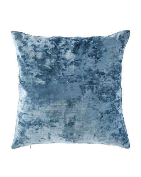D.V. Kap Home Miranda Textured Pillow, Turquoise