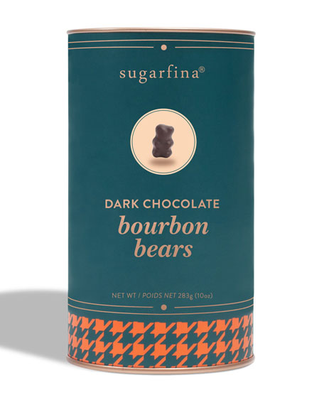 Dark Chocolate Bourbon Bears Canister