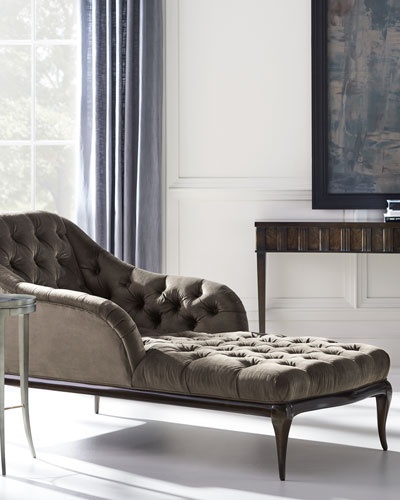 All Buttoned Up Chaise