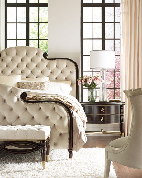Everly Upholstered & Tufted Queen Bed