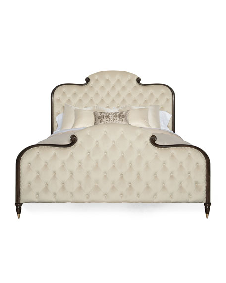 Everly Upholstered & Tufted California King Bed