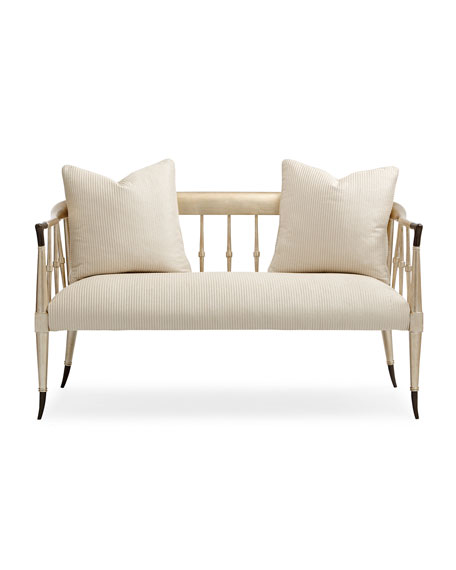Twice As Beautiful Settee