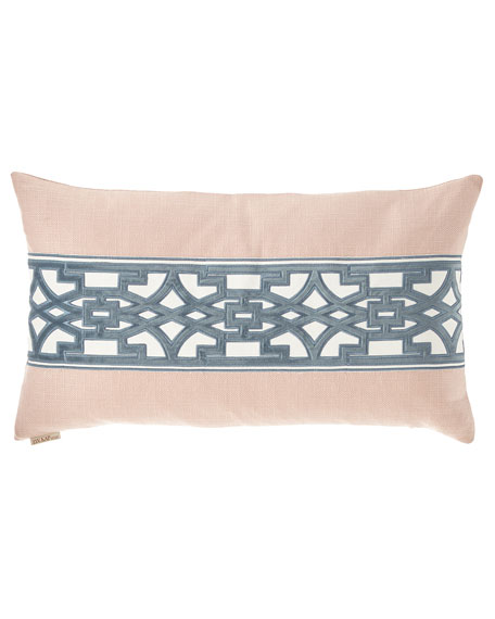 D.V. Kap Home Lyon Pieced Pillow