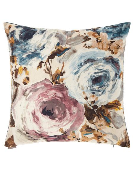 D.V. Kap Home Paradiso Floral Watercolor Pillow
